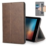 Sale For Ipad Pro 10 5 Case Premium Leather Multiple Viewing Stand Cover With Hand Strap Auto Wake Sleep Smart Folio Flip Card Holder For 2017 Release Apple Ipad Pro 2 10 5 Inch Brown Intl Online China