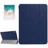 Shop For For Ipad Pro 10 5 Inch Pu Litchi Texture 3 Folding Smart Case Clear Back Cover With Holder Navy Intl