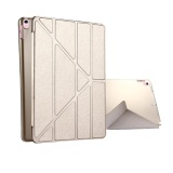 Wholesale For Ipad Pro 10 5 Inch Silk Texture Horizontal Deformation Flip Leather Case With 4 Folding Holder And Sleep Wake Up Champagne Gold Intl