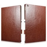 Discount For Ipad Pro Leather Case Xoomz Knight Pu Leather Book Folio Case Genuine Leather Case For Apple Ipad Pro 12 9 Inch Folio Flip Stand Cover With Auto Sleep Wake Up Smart Function Brown Intl Icarer On China