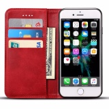 Promo For Iphone 6 6S Premium Genuine Cow Leather Card Slot Wallet Flip Cover Skin Apple Phone Case Intl