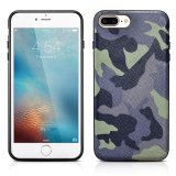 Cheapest For Iphone 7 Plus Case Xoomz Genuine Leather Camouflage Series Back Cover With Tpu Frames In Ultra Slim Design Camo Cases With Metal Plate For Apple Iphone 7 Plus 5 5 Inch Jungle Camo Intl Online