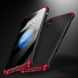 Best For Iphone X 5 8 Inch Case Luxury Ultra Thin Element Fashion Metal Aluminum Cell Phone Cases Mobile Back Cover Shell Black Intl