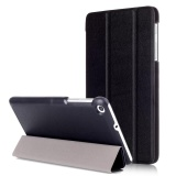 Discount For Mediapad T2 7 Case Stand Folio Leather Smart Cover For Huawei Tablet T1 7 Inch T1 701U Black Intl