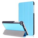 New For Mediapad T2 7 Case Stand Folio Leather Smart Cover For Huawei Tablet T1 7 Inch T1 701U Sky Blue Intl