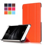 Sale For Mediapad T2 Pro 7 Inch Case Stand Folio Leather Smart Cover For Huawei Tablet M2 7 Ple 703L Orange Intl Oem Wholesaler