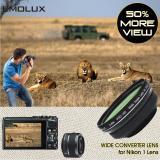 Where To Shop For For Nikon 1 Emolux Pro Hd 45X Wide Converter Lens For Nikon 1 V2 V1 J3 J2 J1 S1 With 1 Nikkor Vr 10 30Mm 40 5Mm