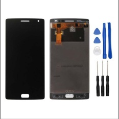 For Oneplus Two 2 A2001 A2003 A2005 Lcd Display Touch Screen With Digitizer Full Assembly Free 3M Tape Opening Repair Tools Glue Intl Sale