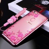 For Oppo F5 F5 Youth A73 6 Inch Case Luxury 3D Soft Plastic Case Coque For Oppo A73 Silicon Glitter Rhinestone Cover Stand Cover Shell Intl Coupon Code
