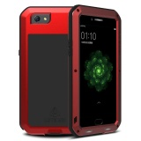 For Oppo R9S Plus 6 Inch Case Armor Aluminum Metal Waterproof Shockproof Dropproof Luxury Case Cover Coque Red Intl Coupon Code