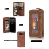 Price For Samsung Galaxy Note 8 Wallet Case All In One Portable Leather Bag Purse Card Slot Removable Back Cover Mirror Intl Guluguru China