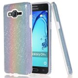 Price For Samsung Galaxy On5 Sparkling Glitter Tpu Pc Phone Back Case Cover Rainbow Intl Moonmini Original
