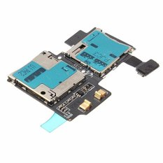 Best Deal For Samsung Galaxy S4 I9505 Micro Sd Card Reader Sim Tray Holder Flex Cable Intl