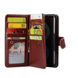 For Samsung Galaxy S8 9 Card Slots Slim Wallet Folio Pu Leather Phone Case Cover With Detachable Magnetic Hard Case Intl Reviews