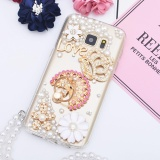 Cheap For Samsung Galaxy S8 Casing With Ring Holder Handmade Phone Case Lady Phone Cover Intl Online