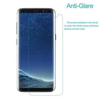 For Samsung Galaxy S8 G950 Matte Anti-glare LCD Screen Protector Film (Black Package)