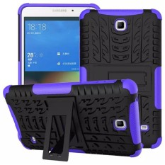 Review For Samsung Galaxy Tab 3 7 2013 P3200 P3210 T210 Tablets Case Protective Cover Tablet Cases Rugged Impact Armor Hybrid Shell Dual Layer Detachable Impact Resistant Purple Intl Oem