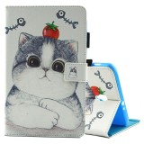 Buy For Samsung Galaxy Tab A 8 T380 And T385 Tomato And Cat Pattern Horizontal Flip Leather Case With Holder And Card Slots Intl Sunsky