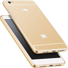 Price For Xiaomi Mi Max Case Metal Frame Back Cover Mobile Phone Protection Shell For 6 44 Gold China