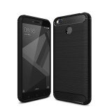 Discounted For Xiaomi Redmi 4X 5 Inch Case Cover Soft Tpu Silicon Carbon Fiber Anti Knock Zeroone Cover Black Intl