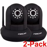 Foscam Fi9821P P2P 720P Hd Ip Camera Black Twin Pack Review