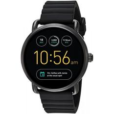 Cheaper Fossil Q Wander Gen 2 Black Silicone Touchscreen Smartwatch Ftw2103