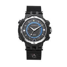 The Cheapest Foxwear Fox8 32Gb Capacity Daily Waterproof Wifi Camera Smart Watch With Compass Support Remote Control P2P Control Led Flashlight Night Vision Voice Record Blue Black Intl Online