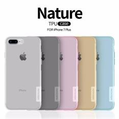 Who Sells Apple Iphone 7 Plus 8 Plus Grey Pink Transparent Nature 6Mm Ultra Thin Soft Tpu Case By Nillkin Cheap