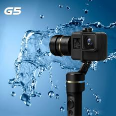 Sale Free Mini Tripod Feiyu G5 New Improved Version 3 Axis Splash Proof Gimbal Stabilizer For Gopro Hero6 Hero5 Hero4 Hero3 Or Similar Size Action Camera On Singapore