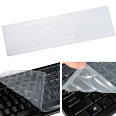 Freebang Universal Clear Silicone Keyboard Skin Protector Cover for PC Computer Desktop - Intl