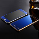 Deals For Front Back Mirror Effect Tempered Glass Screen Protector For Iphone 7Plus Intl