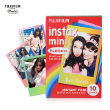 Compare Prices For Fujifilm Instax Mini 10 Sheets Colorful Rainbow Film Photo Paper Snapshot Album Instant Print For Fujifilm Instax Mini 7S 8 25 90 Intl