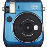 Latest Fujifilm Instax Mini 70 Instant Film Polaroid Camera Blue