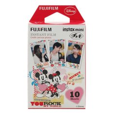 Fujifilm Instax Mini Film Mickey and Friends You Rock My World - 10 sheets