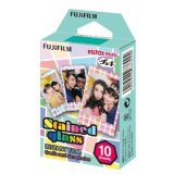 Fujifilm Instax Mini Stained Glass Instant Films 10 Sheets On Singapore