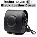 Best Offer Fujifilm Instax Square Sq 10 Black Leather Cover Bag