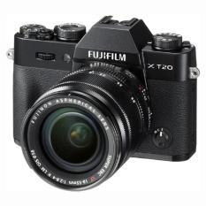 Price Fujifilm X T20 Black Mirrorless Digital Camera Fujinon Xf 18 55Mm Lens Fujifilm