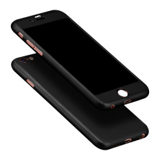 Sale Full Body Protective Matte Case For Apple Iphone 6 6S 4 7 Black Intl Online China