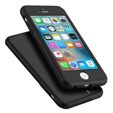 Get Cheap Full Body Protective Matte Case For Apple Iphone Se 5S 5 Black