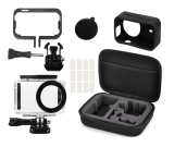 Brand New Full Protective Kit Bag Waterproof Housing Case Side Frame Cover Silicone Shell For Xiaomi Mijia 4K Mini Camera Intl