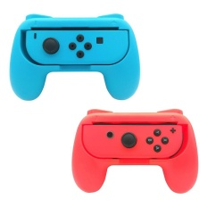 Where Can You Buy Fuskm Fastsnail Joy Con Grips For Nintendo Switch Wear Resistant Joy Con Handle For Nintendo Switch 2 Pack Blue Red Intl
