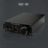 Cheap Fx Audio Feixiang Dac X6 Fever Mini Hifi Usb Dac Fiber Coaxial Digital Audio Decoder 16Bit 192 Headphone Amplifier Amp Tpa6120