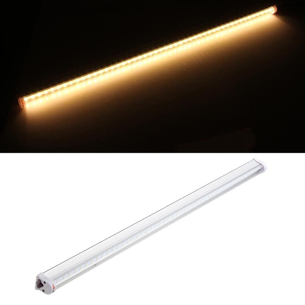 GAKTAI 1PCS T5 9W 48 LED 2835 SMD 2Ft 60cm Matte Shell Warm Light Fluorescent Light Lamp Tube 90-240V - Intl