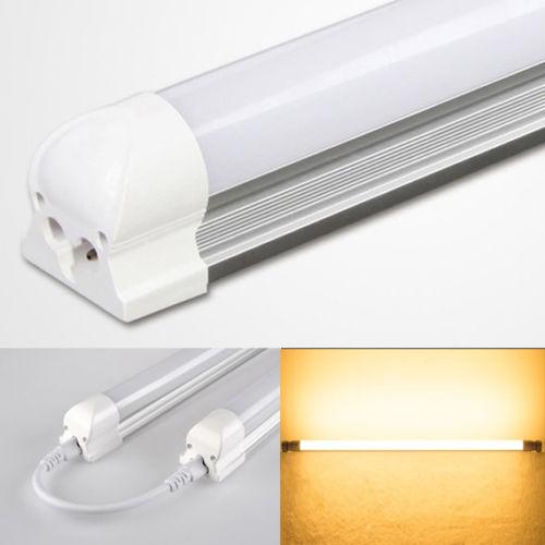 Buy Gaktai T8 10W 2Ft 60Cm 48 Led 2835Smd Warm Light Matte Shell Fluorescent Tube Light Lamp 100 265V Intl Cheap On China