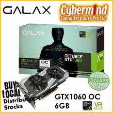 Galax Gtx1060 Oc 6Gb Gaming Graphics Card Pci Express Lowest Price
