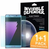 Sale Galaxy Note Fe Screen Protector Ringke Invisible Defender Full Coverage 2 Pack Edge To Edge Curved Side Coverage Hd Clearness Film For Samsung Galaxy Note Fe Intl Ringke Online