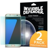 Galaxy S7 Edge Screen Protector Ringke Invisible Defender Full Coverage 2 Pack Edge To Edge Curved Side Coverage Hd Clearness Film For Samsung Galaxy S7 Edge Intl Price Comparison