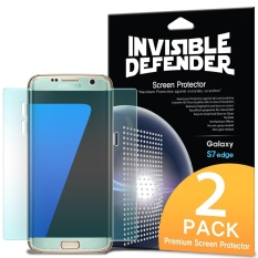 Buy Galaxy S7 Edge Screen Protector Ringke Invisible Defender Full Coverage 2 Pack Edge To Edge Curved Side Coverage Hd Clearness Film For Samsung Galaxy S7 Edge Intl Cheap South Korea