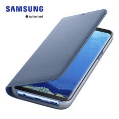 Galaxy S8 Led View Cover Blue On Singapore