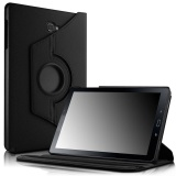Sale Galaxy Tab A 10 1 With S Pen Case Smart Pu Leather 360 Degrees Rotating Stand Case Cover For Samsung Galaxy Tab A 10 1 With S Pen P580 Tablet Only Black Intl Oem Wholesaler